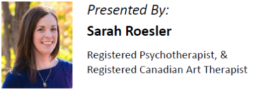 Sarah Roesler - Psychotherapist and Art Therapist