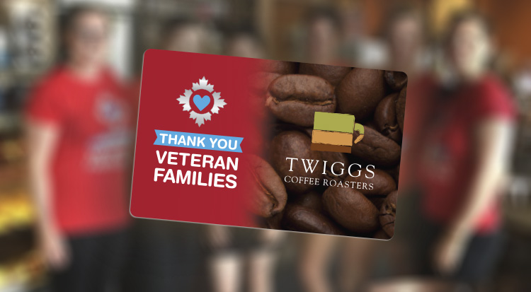 Veteran Family Card - Twiggs Coffee Roasters Discount for Veterans and Veteran Families